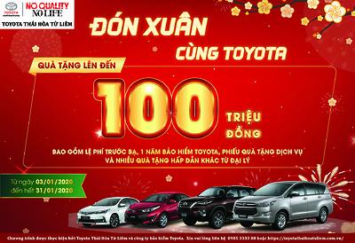 Đón tết cùng Toyota Thái Hòa Từ Liêm